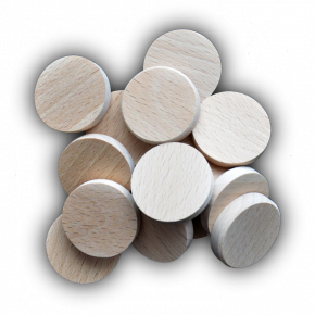 XWG - Wood Geocoins - wooden coins for Geocaching