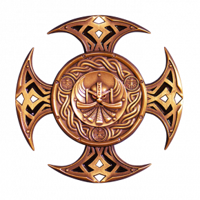 Celtic Cross Geocoin AC