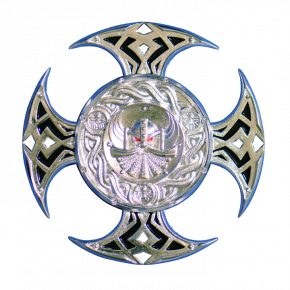 Celtic Cross geocoin SS