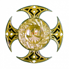 Celtic Cross geocoin SG