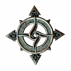Celtic Compass Geocoin AS