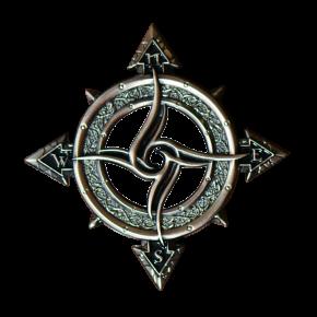 Celtic Compass Geocoin AS