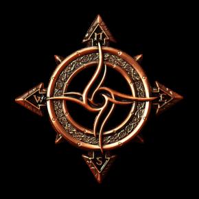 Celtic Compass Geocoin AC