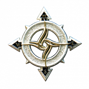 Celtic Compass Geocoin S...