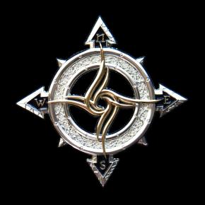 Celtic Compass Geocoin SS +...