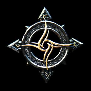 Celtic Compass Geocoin...
