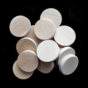 CWG - Czech Wood Geocoin - dřevěné mince pro Geocaching