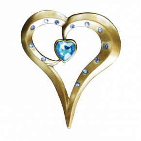 Romantic Heart Geocoin AG