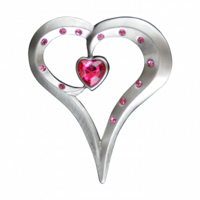 Romantic Heart Geocoin AS