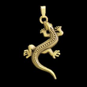 Lizard Geocoin přívěsek AG