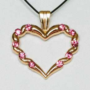 Stone Heart Geocoin SG + Pink
