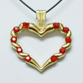 Stone Heart Geocoin SG + Red