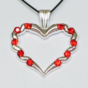 Stone Heart Geocoin SS + Red