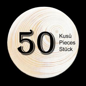 Spruce branch 50 pcs