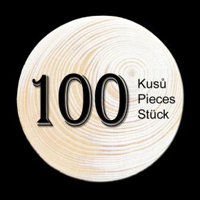 Fichte Zweig 100 stück
