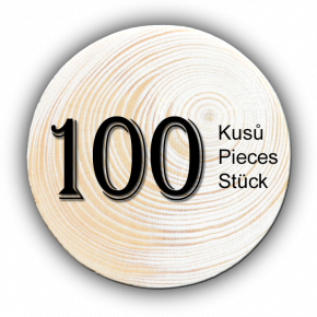 Spruce branch 100 pcs