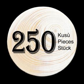 Spruce branch 250 pcs