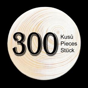 Spruce branch 300 pcs