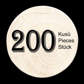 Buche Zweig 200 stück