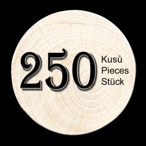 Buche Zweig 250 stück